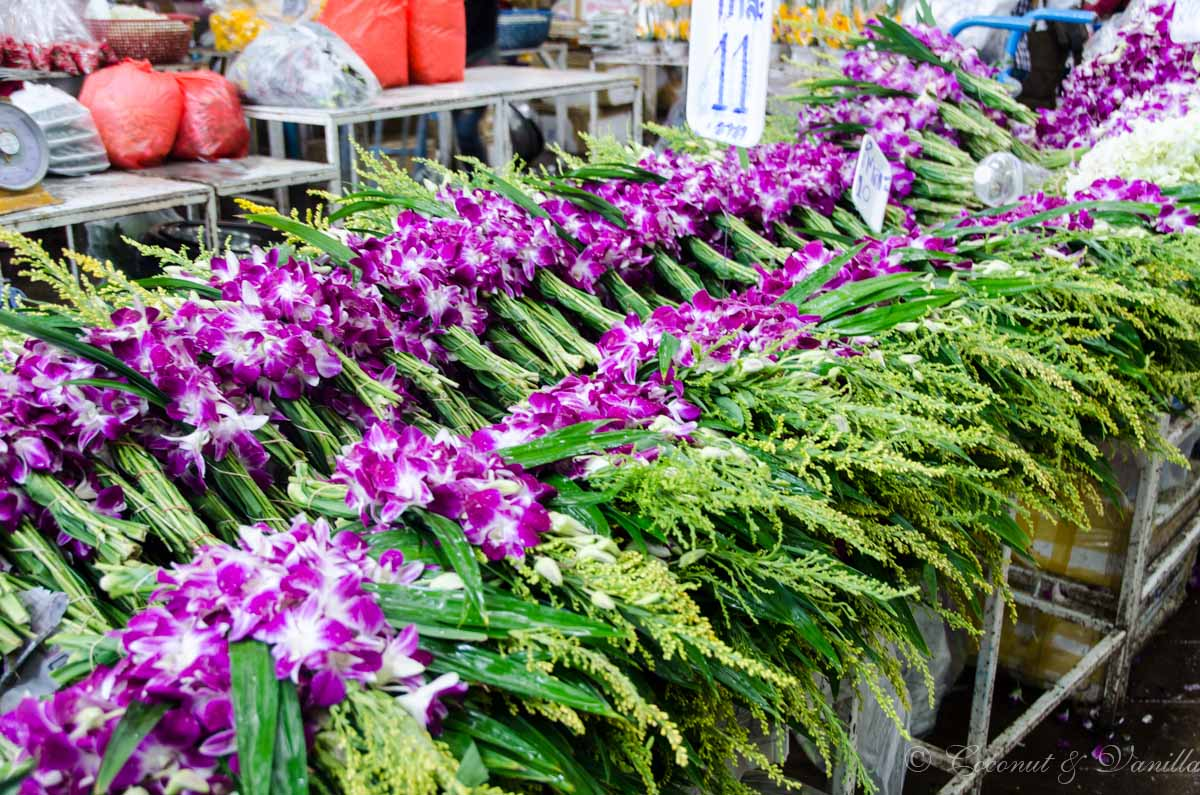 Bangkok Blumenmarkt