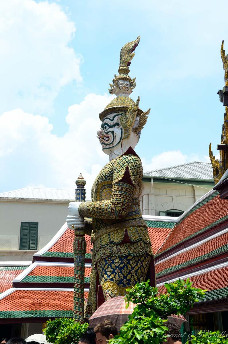 Bangkok Königspalast Statue