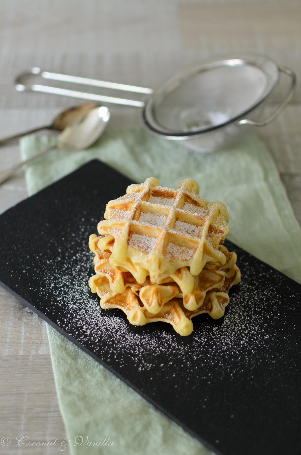 Luscious Yeast Waffles