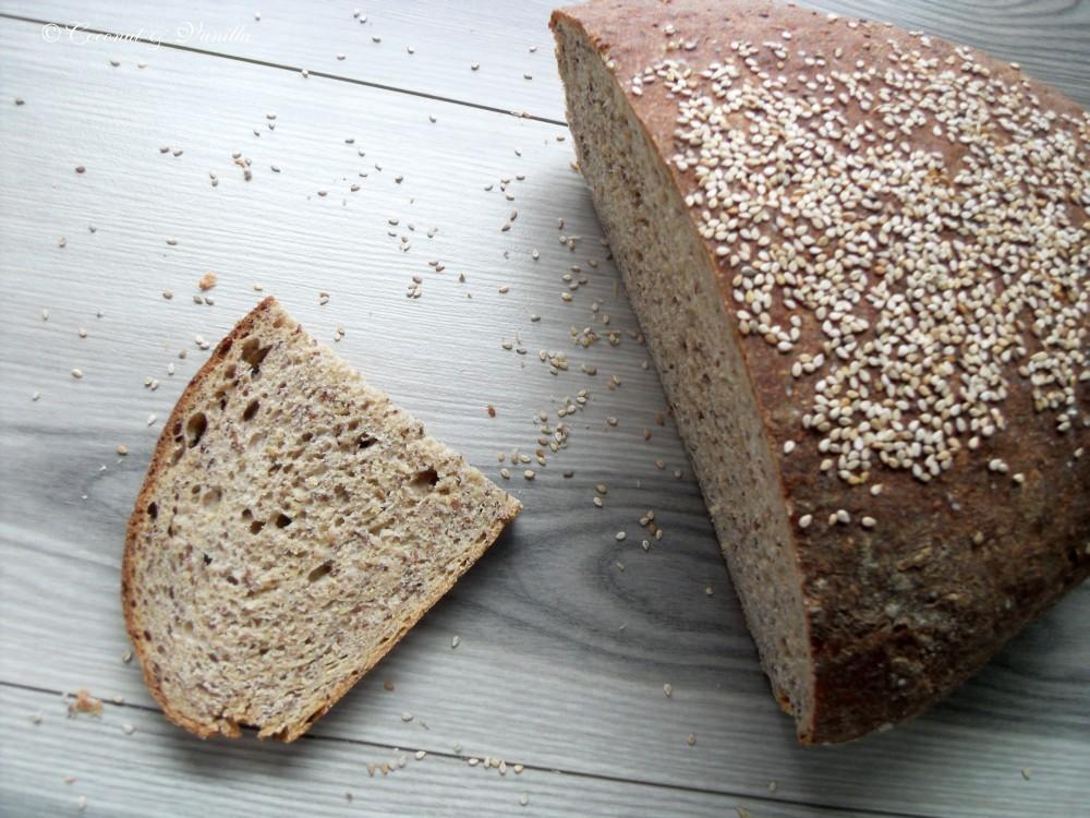 Flaxseed Sourdough Bread