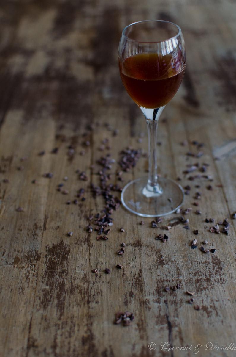 Creme de Cacao – Klarer Kakaolikör