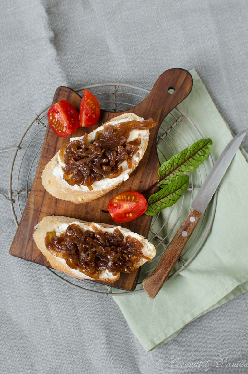 preserved caramelized red onion relish