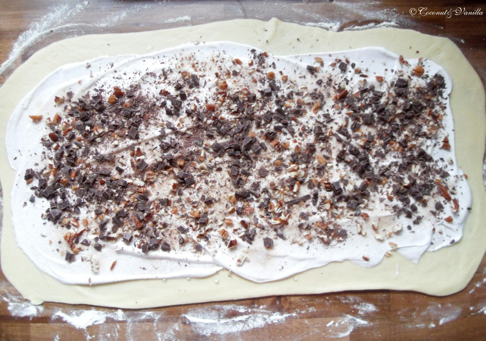 Yeasted Meringue Coffee Cake