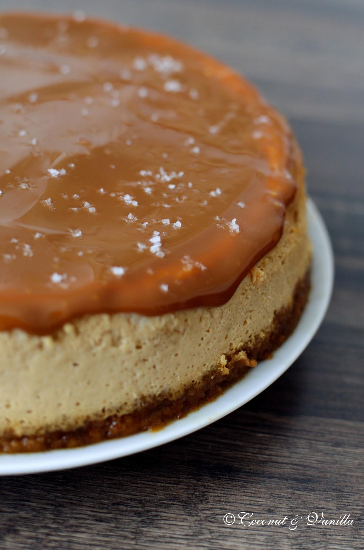 Dulce de Leche Cheesecake mit Fleur de Sel