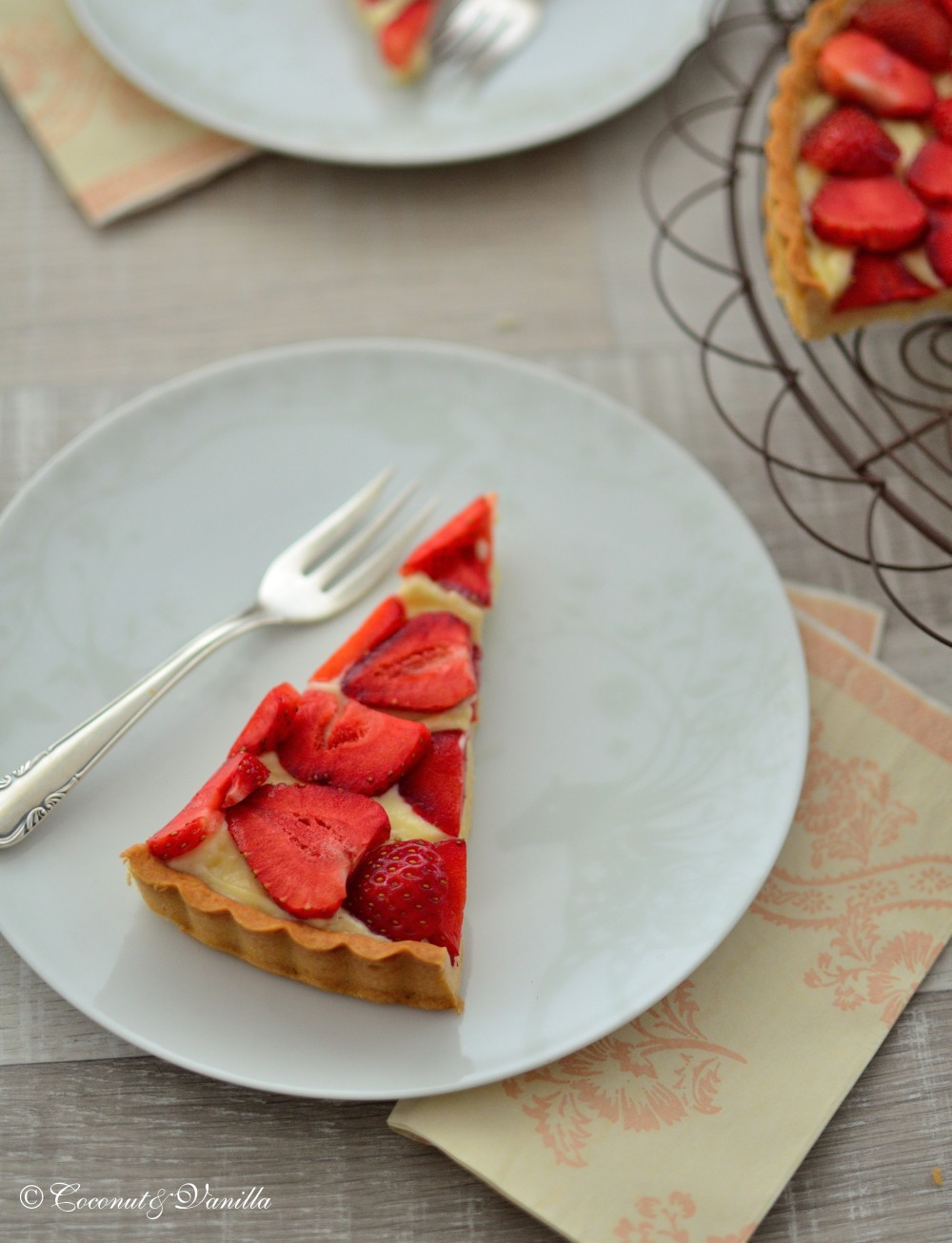 Strawberry-Vanilla-Tart