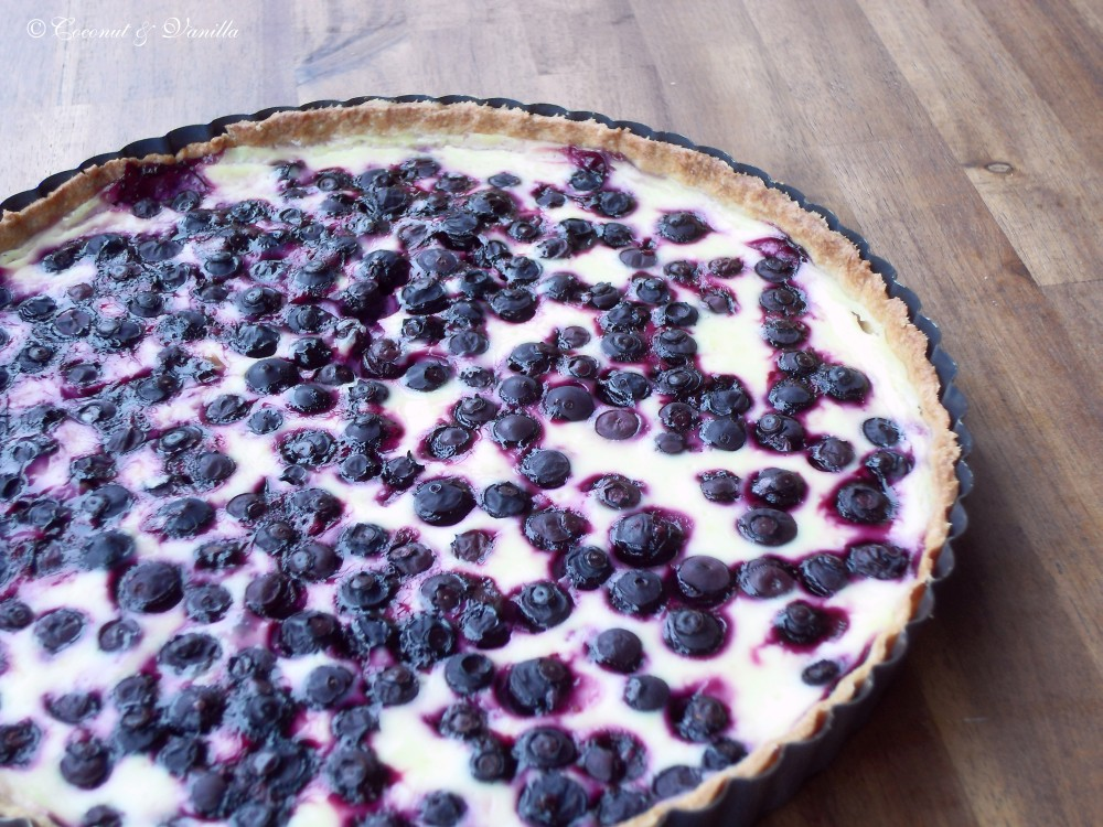 Blueberry-Lemon-Tart
