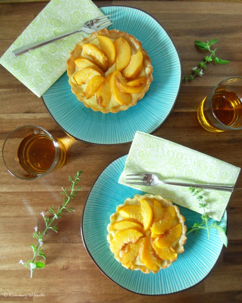 Peach Tartelettes