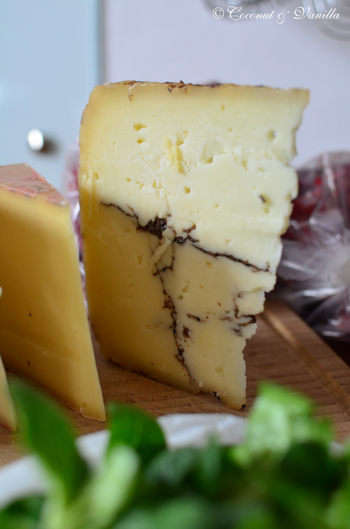 cheese with truffels