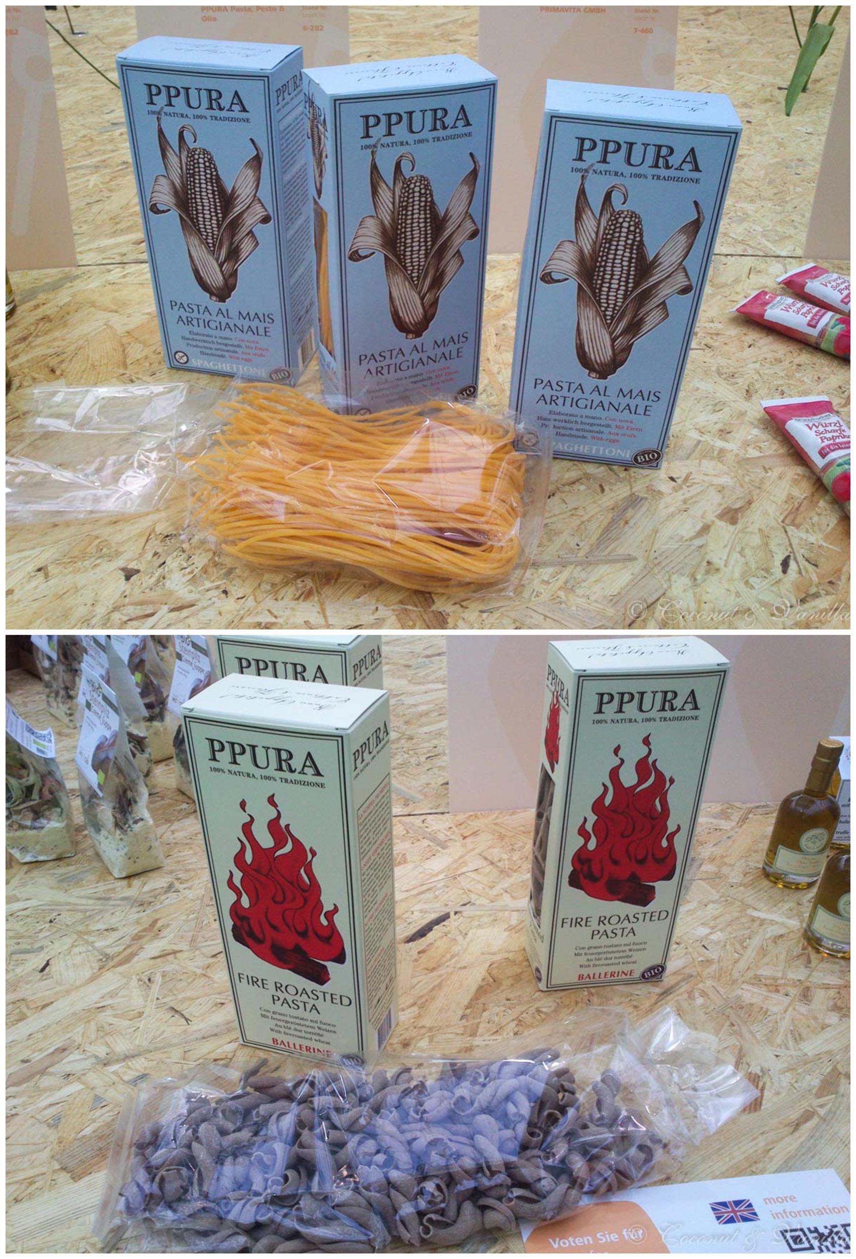 Maispasta, feuergeöstete Pasta von PPura