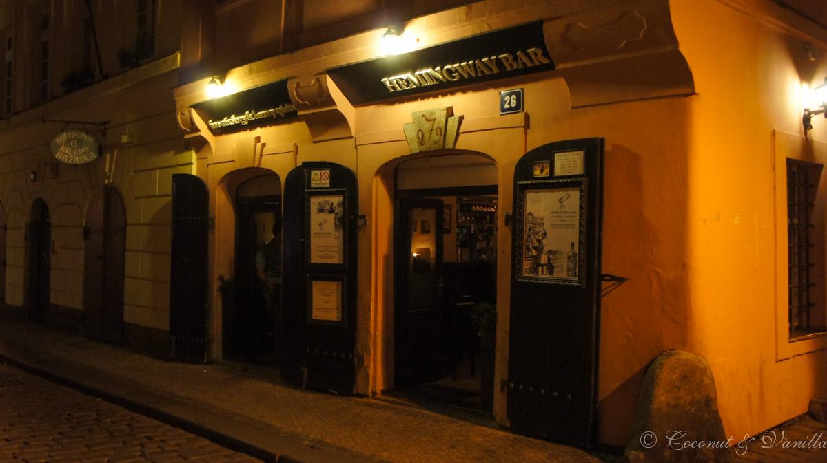 Prague Hemingway Bar