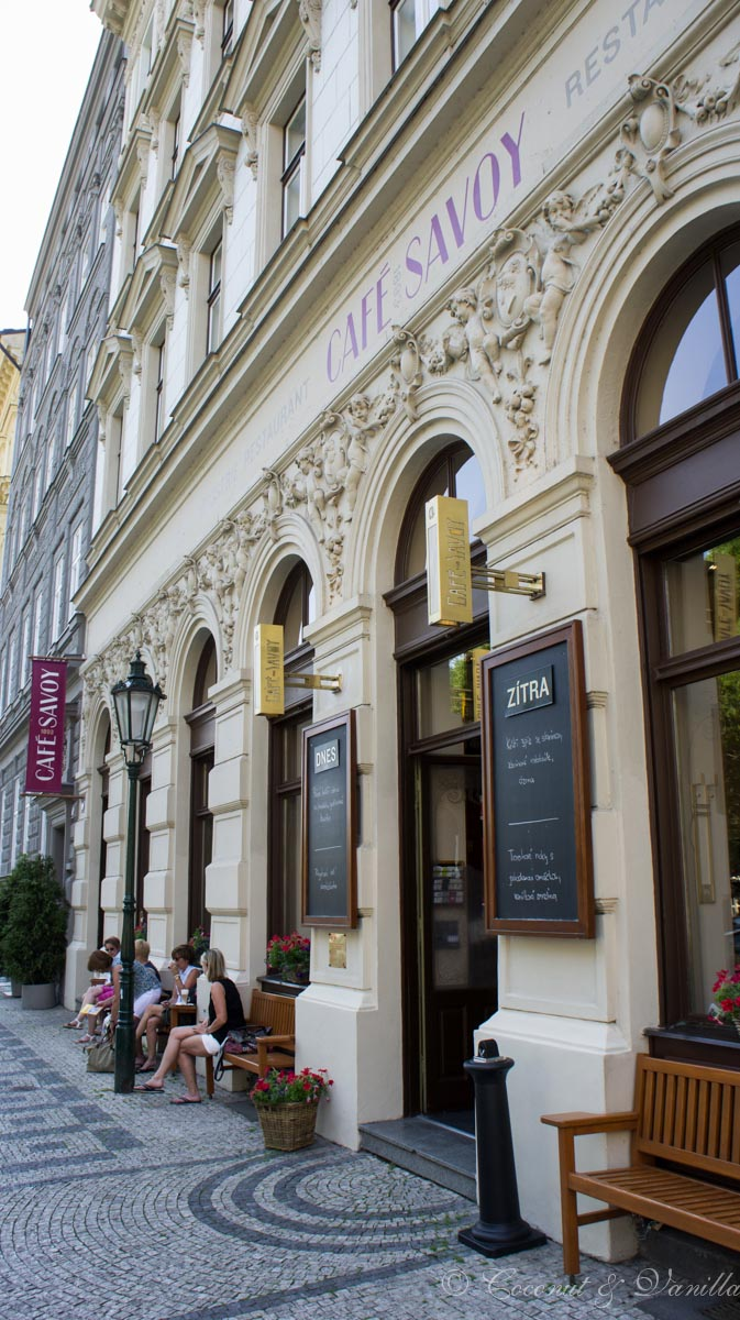 Prague Café Savoy