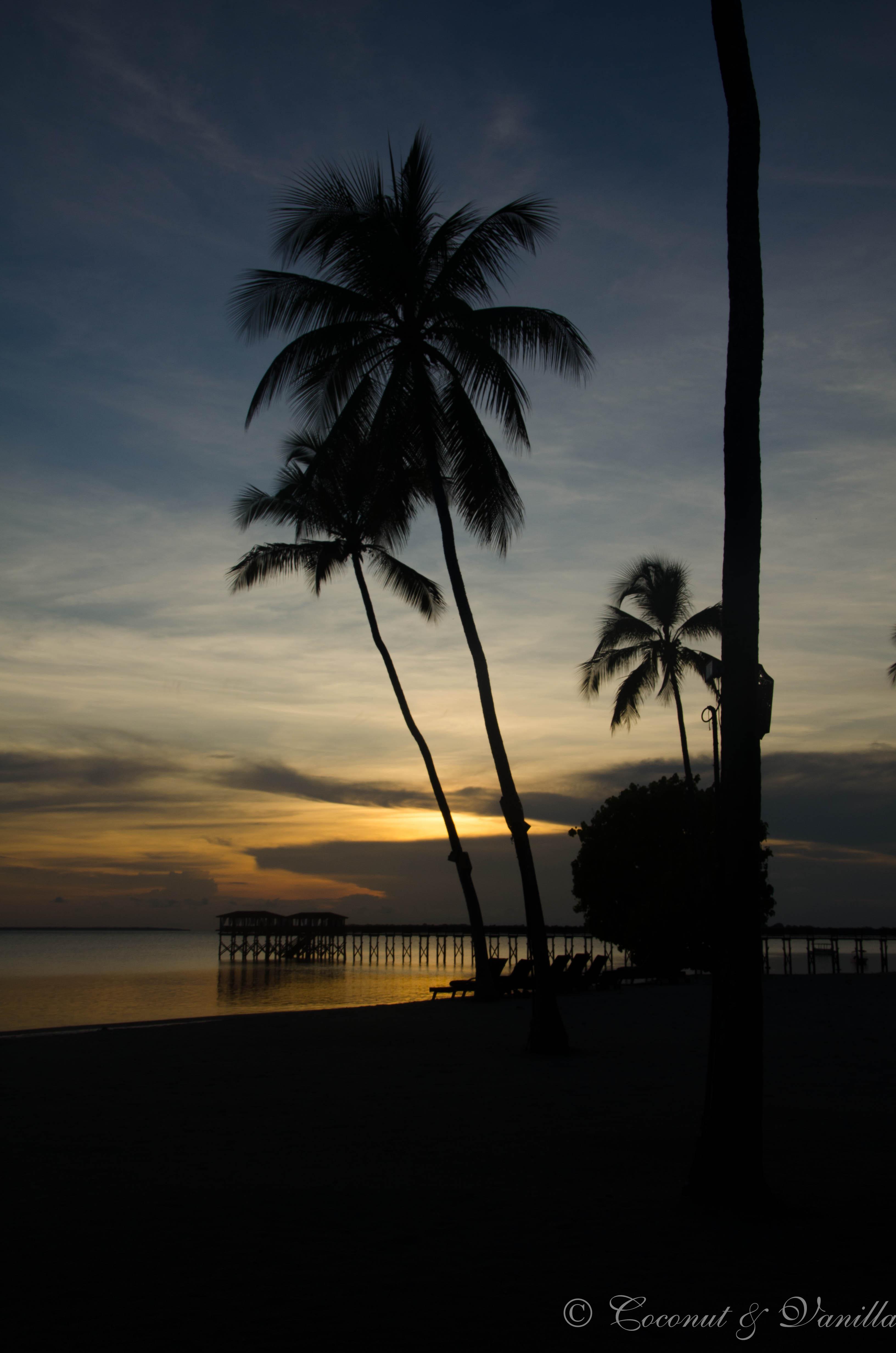 traumhafter Sonnenuntergang im The Residence Zanzibar