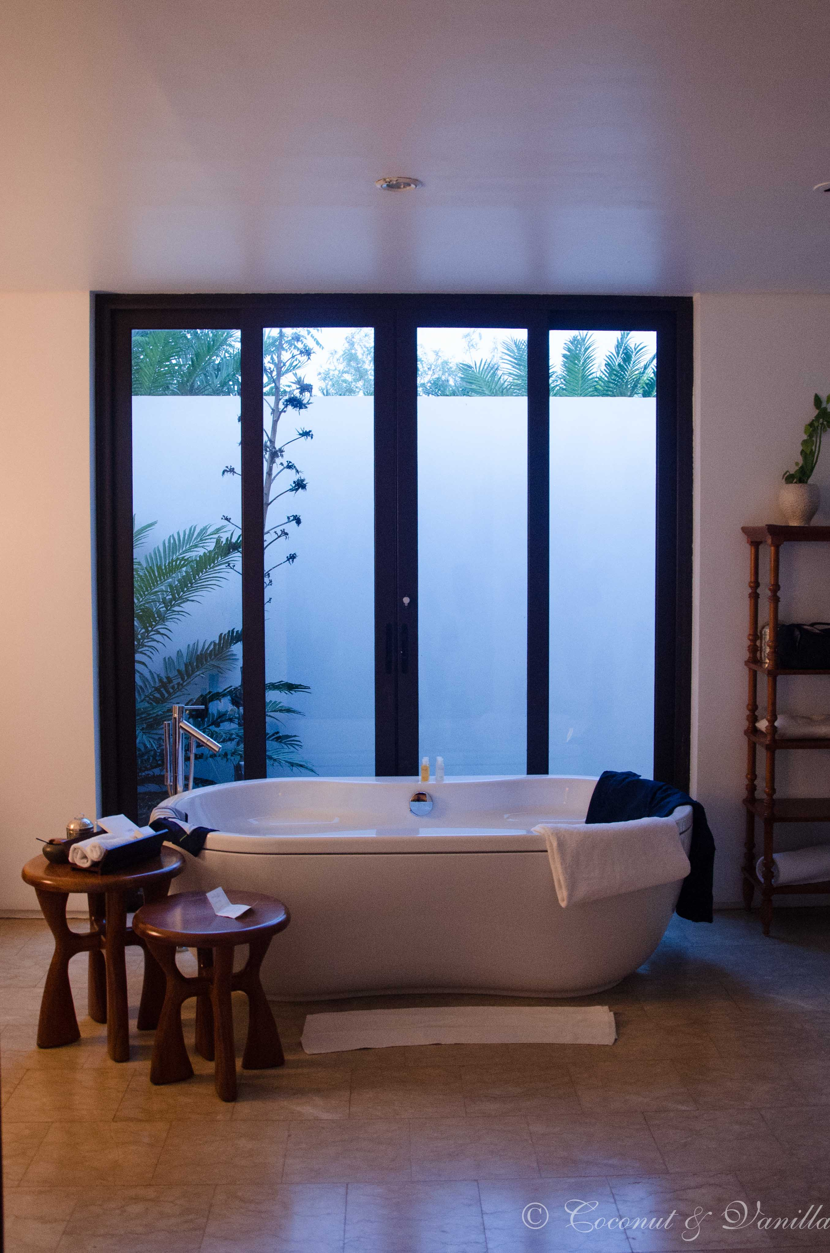 Badezimmer im The Residence Zanzibar