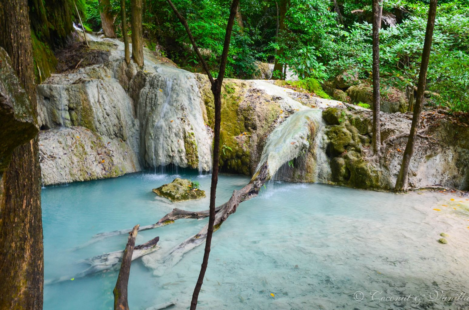 Erawan Waterfalls Nationalpark