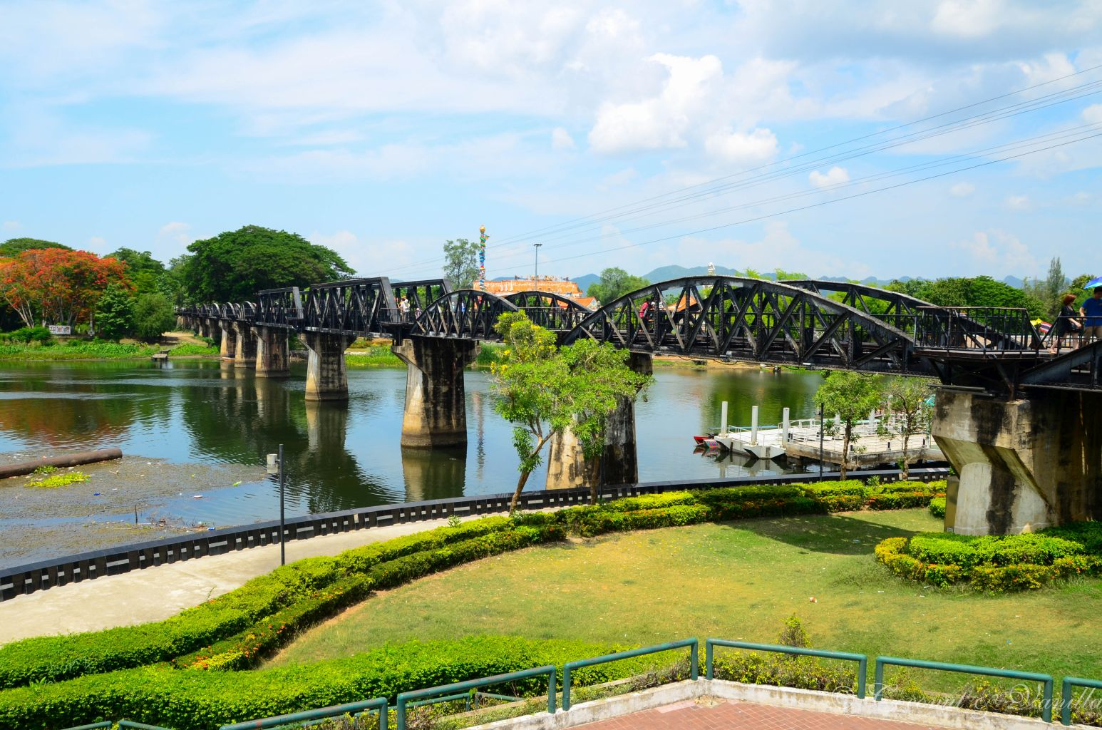 River Kwai Bridge in Kanchanaburi