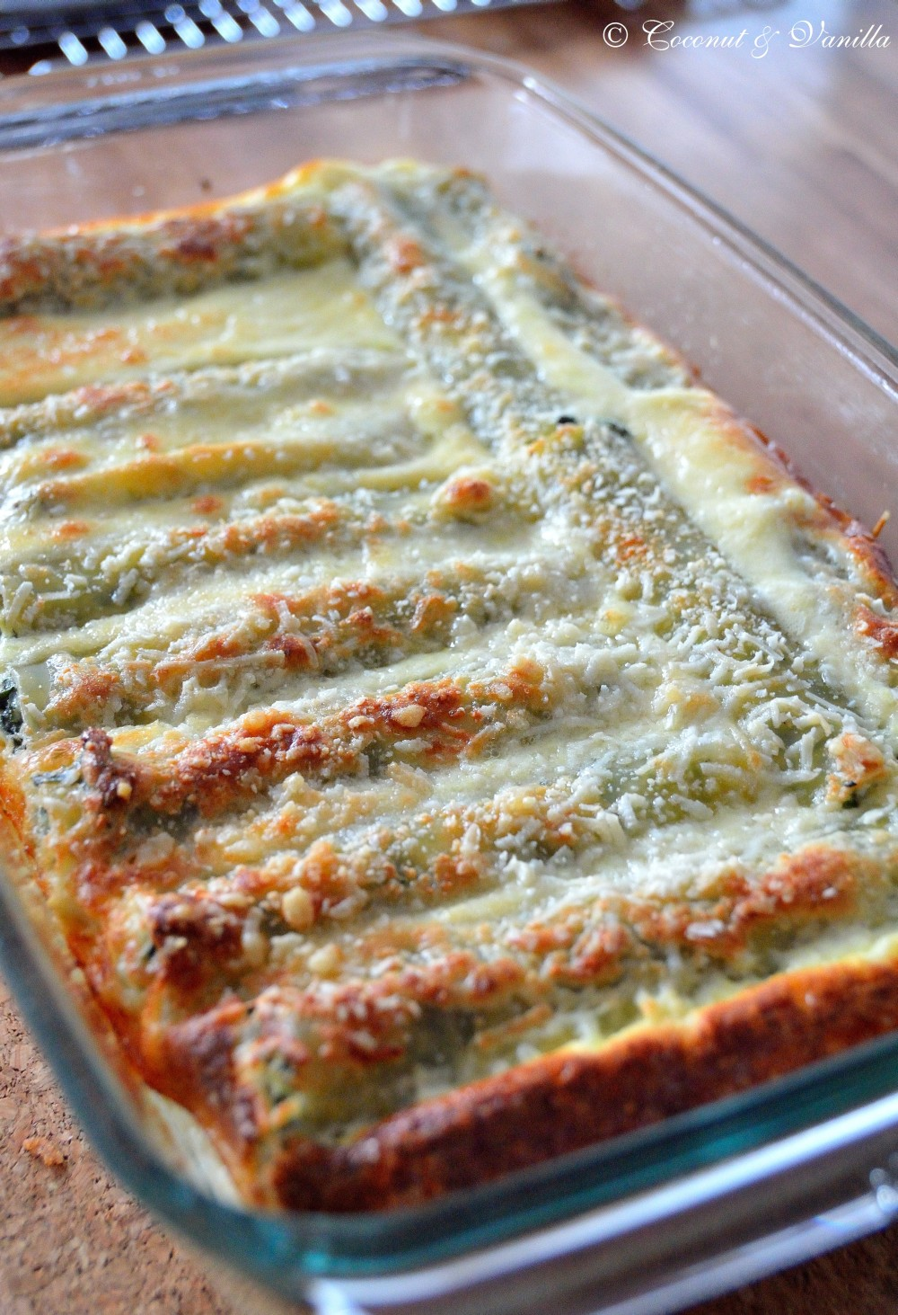 Cannelloni filled with Spinach and Ricotta