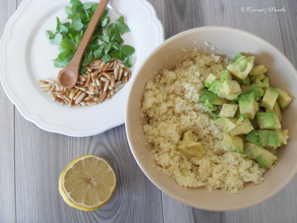 Couscous-Avocado-Salat