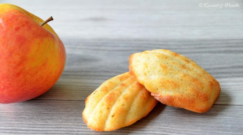 Apfel & Vanille Madeleines mit brauner Butter