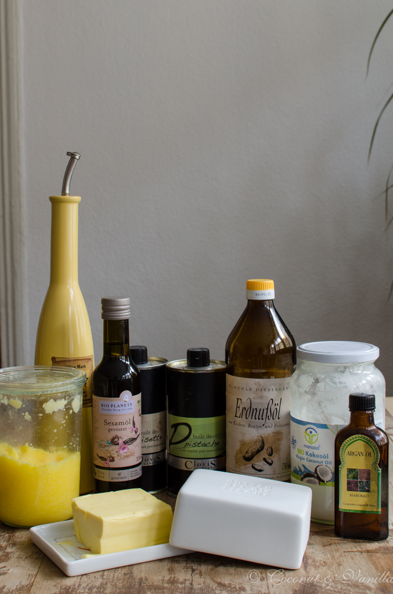 My pantry part 3: Oils and fats