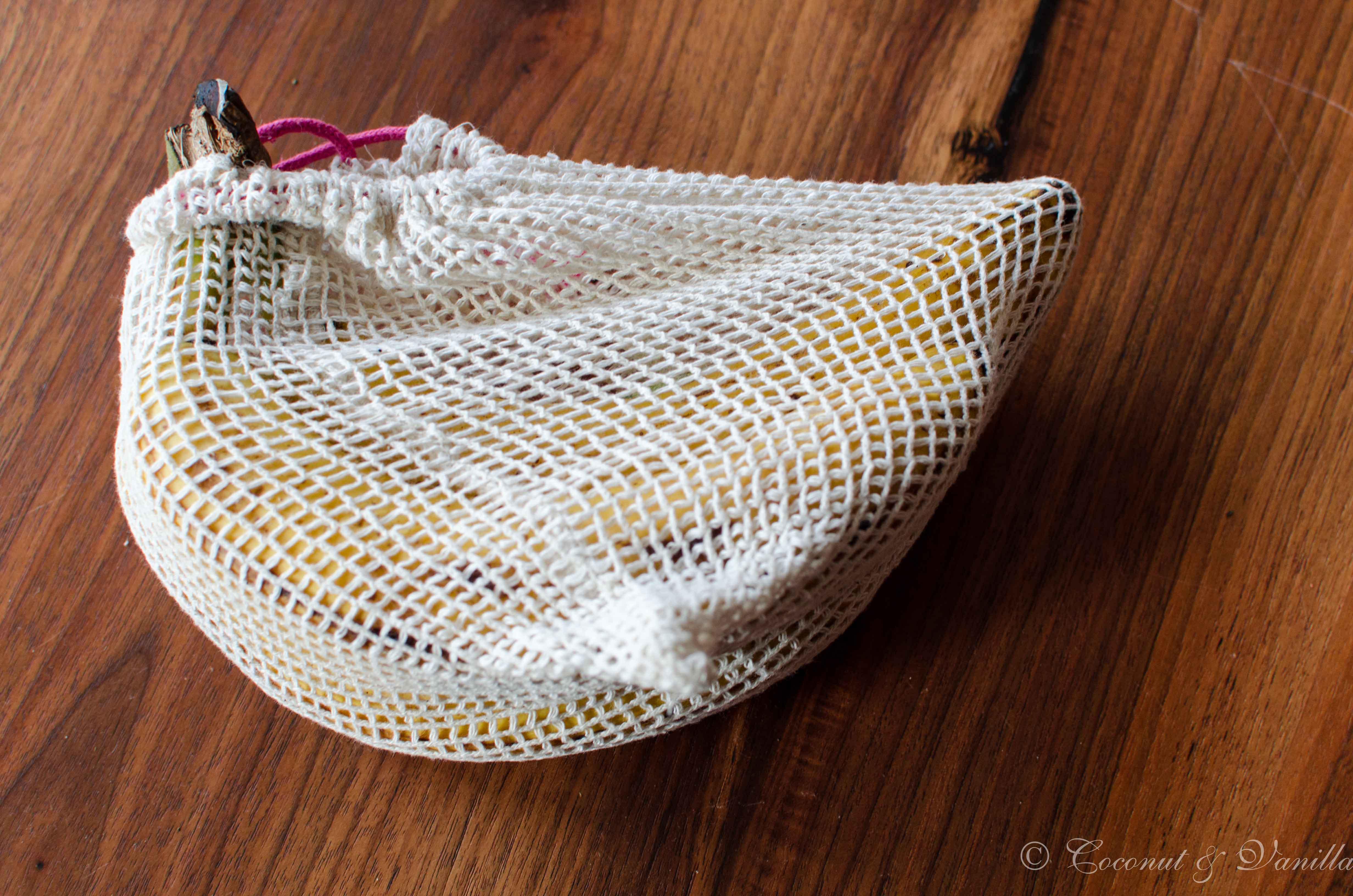 Greenderella Baumwollsäckchen mit Banane