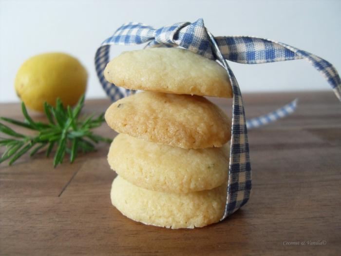 Zitronen-Rosmarin-Kekse