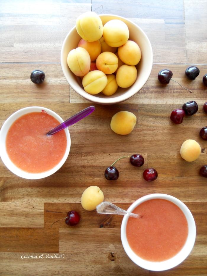 Erdbeer-Melonen-Süppchen