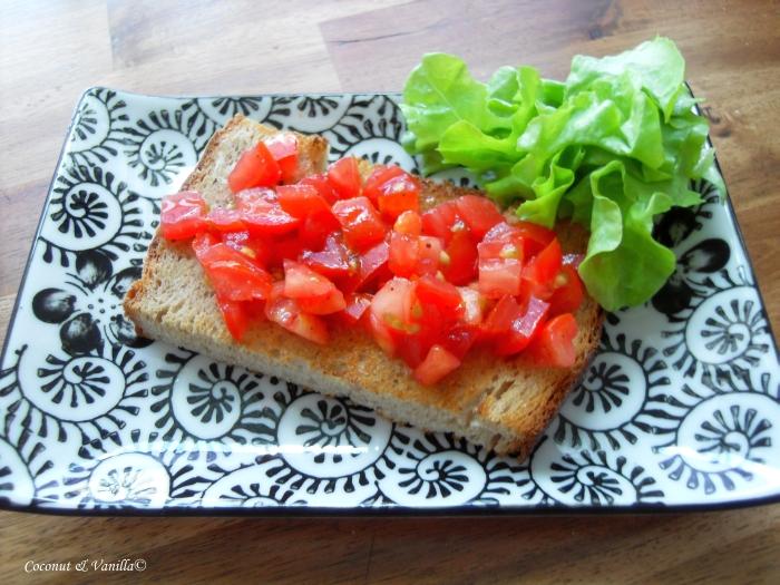 Bruschetta – perfect summer snack