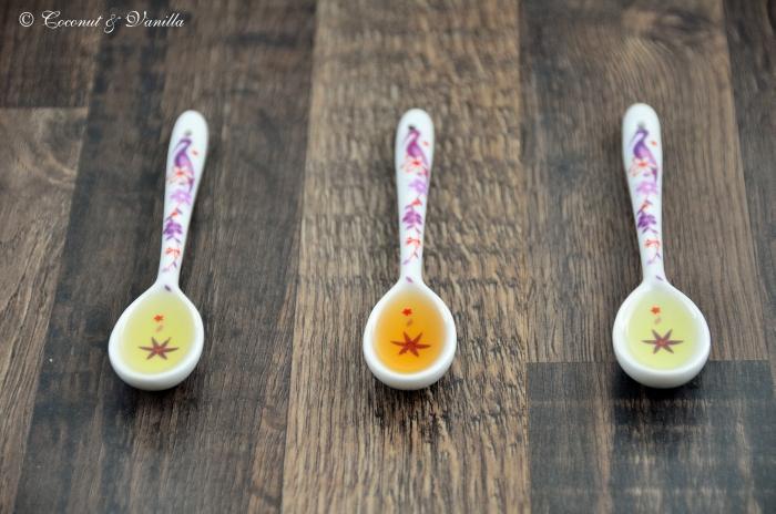 Extracts: Vanilla, Lemon, Orange