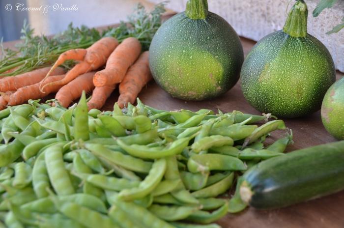Markteinkauf 23.06.2012 & Ernte
