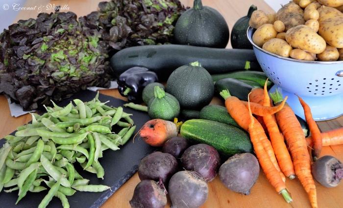 Markteinkauf & Ernte 30.06.2012