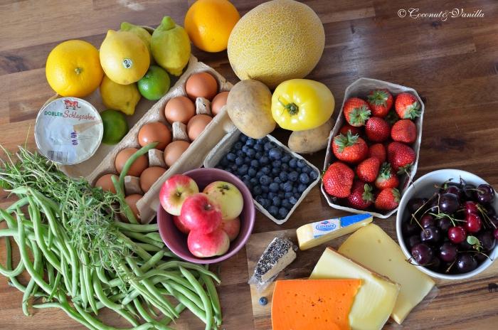 Markteinkauf & Ernte 14.07.2012