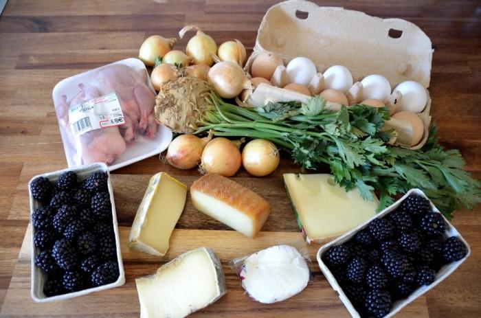 Markteinkauf & Ernte 11.08.2012