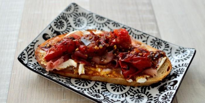 Cooking through la Tartine Gourmande: Tomato Tartine & Carrot and Zucchini Tartlets