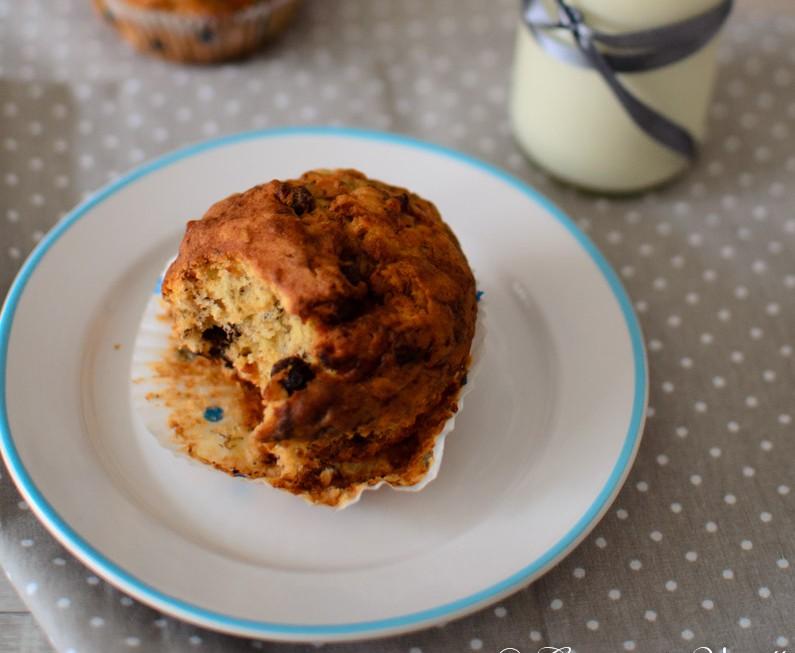 Cooking through la Tartine Gourmande: Banana, Chocolate and Hazelnut Muffins