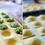 Wild Garlic Ravioli with Lemon Butter