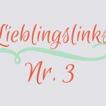 Lovely Links No 3