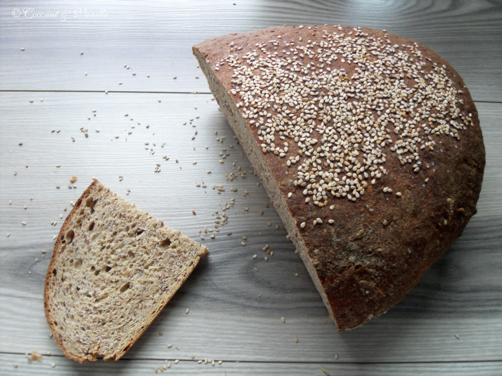 Flaxseed Sourdough Bread