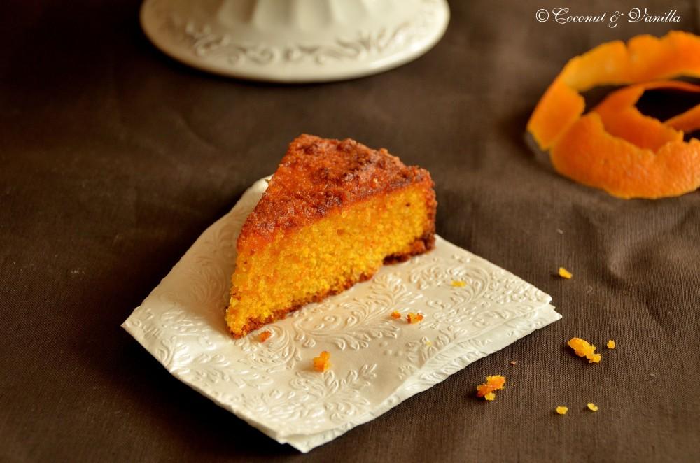 Gluten-free Orange-Polenta-Cake