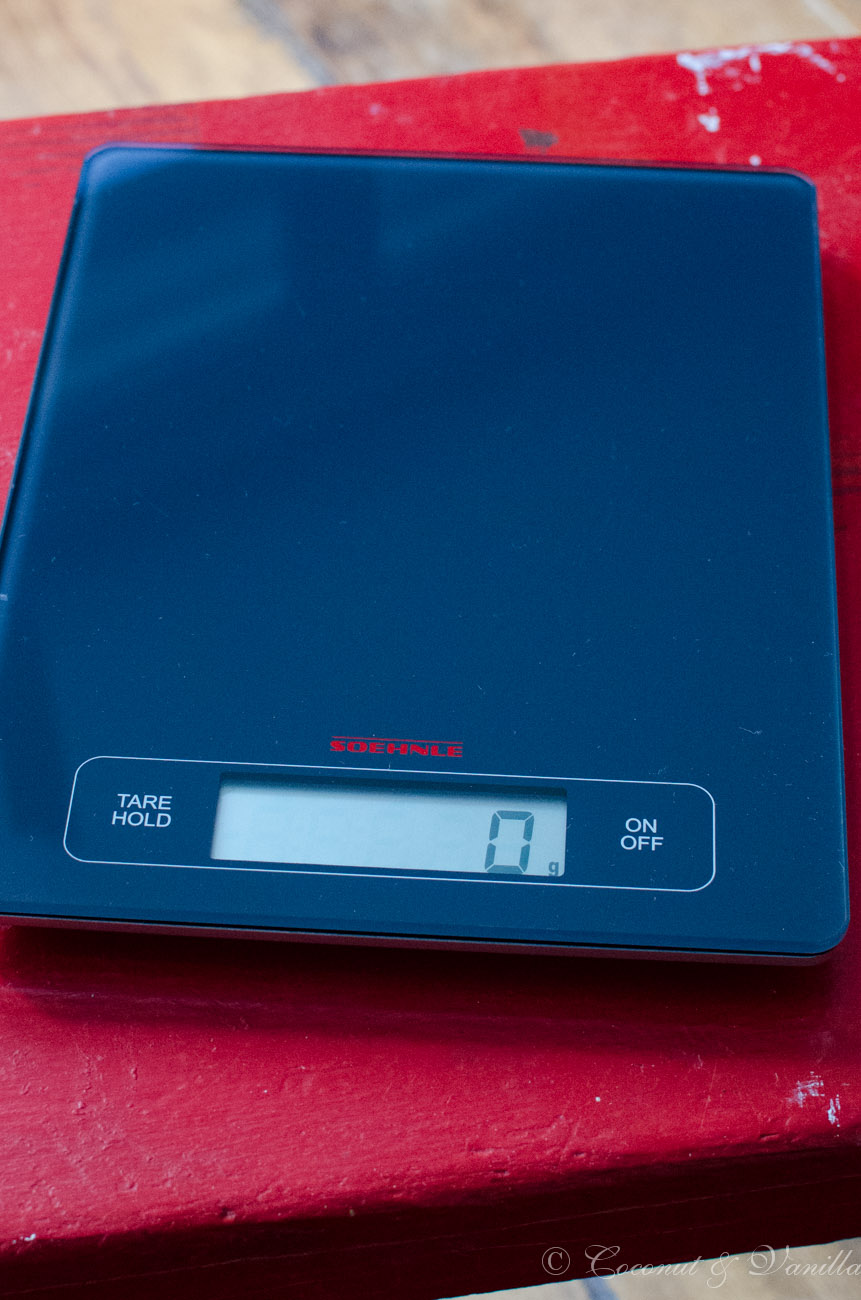 My kitchen scale: Soehnle Page Profi