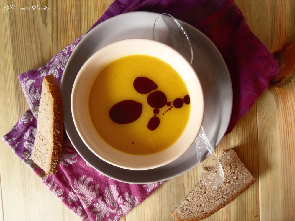 Winter Squash-Apple-Soup