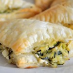 Puff Pastry Turnovers with Zucchini & Feta