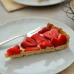 mürbe Erdbeer-Vanille-Tarte