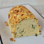 Potato Terrine with Goats Cheese, Basil and Pine nuts