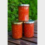 Auf Vorrat: Stückige Tomaten
